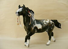 "Breyer Custom/Cm Horse  ""WHITE FEATHERS""  Pintaloosa Mare  by PZ17"