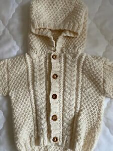 Hand made knitted toddler cardigans
