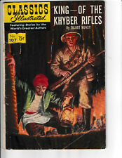 CLASSICS ILLUSTRATED KING -- OF THE KHYBER RIFLES
