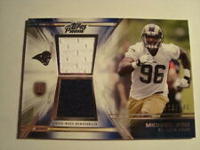 2014 Topps Prime Michael Sam Dual Relic Rookie #'d 116/140