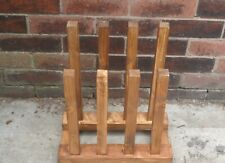 wooden wellington boot holder,made to hold up to four pair.