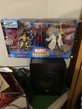 New listing 2003 Toy Biz Marvel Legends X-men Boxed Set New W/ Poster Book & Bases 5 figures