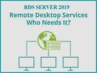WOW 1PC License Remote-Desktop-Service RDS 2019 (50) User/Devices CALs Lifetime