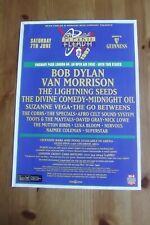 FLEADH FESTIVAL 1997 - ADVERT - DYLAN, VAN MORRISON LIGHTNING SEEDS MIDNIGHT OIL