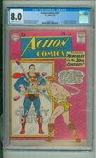 Action Comics #267  8.0 CGC  1st App of Chameleon boy, Invisible Kid & Colossal