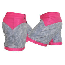 Acu and Pink Female Mma Shorts - Ladies Fight Shorts