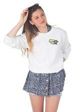 Purrito Pocket Sweater Top Jumper Sweatshirt Funny Cat Burrito Tumblr