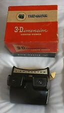 Vintage  Sawyers Light Up Viewmaster 3D Viewer Model F + 4  Reels.