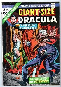 Giant-Size Dracula #2, Very Good - Fine Condition*