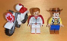 LEGO Disney Pixar Toy Story 4 DUKE CABOOM & WOODY Minifigure Lot 10767