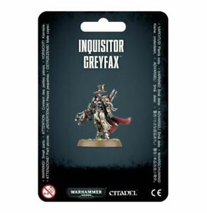 Inquisitor Greyfax 40k Games Workshop New In Box(D)
