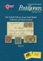 I. Palsson Collection of Classic Iceland, Postiljonen Auction Catalog, Sale 213