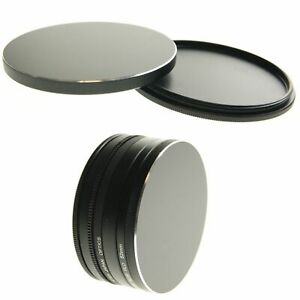 Ex-Pro 72mm CNC Screw in Filter Lens Stack Stacking Storage Protection Case Top