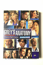 Grey's Anatomy The Complete Eighth Season Hospital Drama ABC T.V. Series on DVD