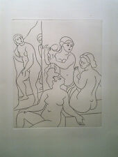 Andre Derain - Etching - Le Satyricon (1951)