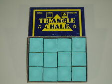 12 PIECES GREEN TRIANGLE CHALK