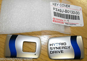 Genuine Toyota Auris Hybrid Remote Key Cover Only PZ49J-B0130-00 HSD Logo <2014