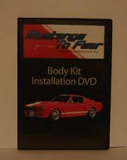 1967 1968 Mustang Eleanor Body Kit  DVD-Updated Version