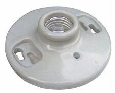 (10 pc) Keyless Porcelain Lampholder Lamp Holder Light Bulb Fixture NEW!