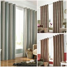 Striped 100% Cotton Contemporary Curtains & Pelmets
