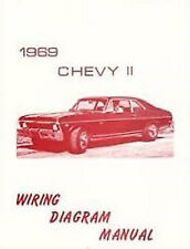 1969 Chevrolet Chevy II Wiring Diagram Manual