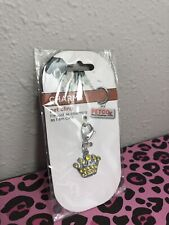 Crown Pet Tag Crystal Encrusted Charm Dog Collar Pet Charm Yellow Dazzler Petco
