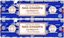 Satya Sai Baba Nag Champa Incense Sticks PACK OF 2 (100 GRAM) Free Shipping