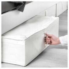 IKEA SKUBB Under Bed Wardrobe Clothe Storage Box Case Organiser 69x55x19cm WHITE