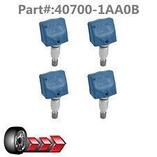 4PCS NEW Fit For Infiniti Nissan TIRE PRESSURE SENSOR TPMS 40700-1AA0C 315 MHz