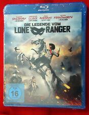 Die Legende vom Lone Ranger - Western - Blu-Ray - 2013 - NEU