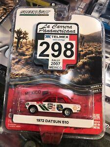 Datsun 1972 La Carrera 510 1:64 Greenlight Diecast