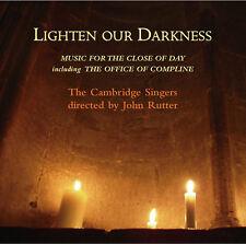 Cambridge Singers - Lighten Our Darkness [New CD]