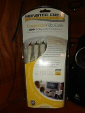 Monster Cable Component Video Cable-8ft, 24K Gold Contacts