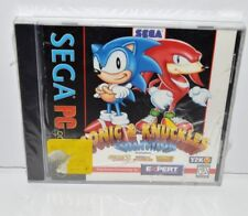 SEGA PC Video Game Sonic & Knuckles Collection New Sealed Case Cracked