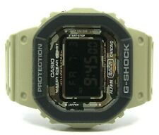 AUTHENTIC GSHOCK LIMITED EDITION WATCH INTERCHANGEABLE STRAP SQUARE CAMO FACE