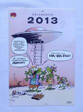 Calendrier SPIROU 2013 - Supplément journal SPIROU - FRANQUIN - BD - DUPUIS