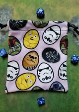 Star Wars Easter Egg dice bag, card bag, makeup bag, small gift bag