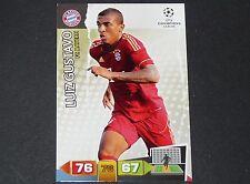 LUIZ GUSTAVO BAYERN MUNICH UEFA PANINI CARD FOOTBALL CHAMPIONS LEAGUE 2011 2012