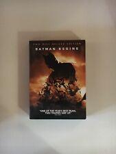 Batman Begins (Dvd, 2005, 2-Disc Set, Deluxe Edition)
