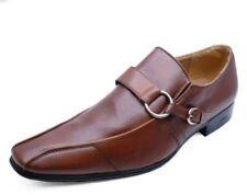 Zapatos informales de hombre mocasines marrones sin marca