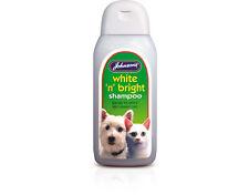 Johnsons Veterinary White 'n' Bright Shampoo 200ml