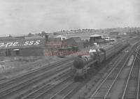 PHOTO  BR LOCO 73038 AT PENGAM SIDINGS ON 31ST JULY 1954