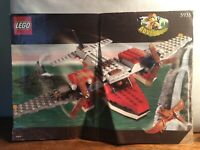 Lego Adventurers #5935 Instruction Book Only Air Plane