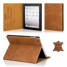 32nd Premium Series - Real Leather Folio Stand Case Cover For Apple 2 / 3 / 4