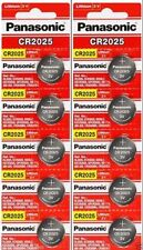 10 x Fresh PANASONIC CR 2025 CR2025 ECR2025 LITHIUM COIN CELL Battery Exp 2027