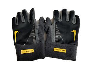 Nike Live Strong Gloves Fits Like A Men's Medium w/ key holder  fleece running