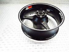 2007 06-07 SUZUKI GSXR750 GSXR 750 600 REAR WHEEL RIM STRAIGHT VIDEO 17X5.50