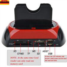 NEU HDD Docking Station Dual USB 2.0 2.5 / 3.5 Zoll IDE SATA externe Festplatte