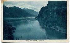 1935 Riva del Garda Armonia Guller Trento dest. Molveno FP B/N VG