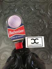 Vintage Lucite Budweiser Baseball Beer Tap Pub Handle Softball